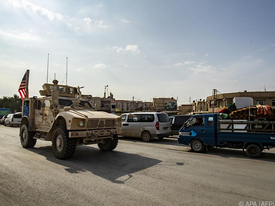 US-Truppen werden aus Syrien in den benachbarte Irak verlegt