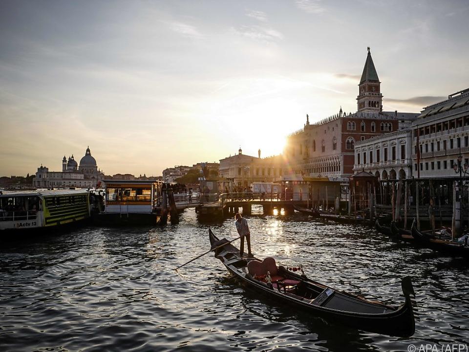 Venedig wird von Touristenströmen geplagt