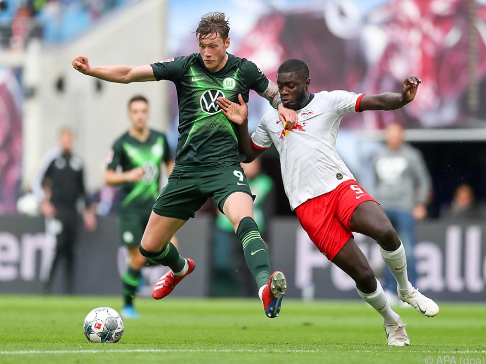 Wolfsburg erkämpfte in Leipzig einen Punkt
