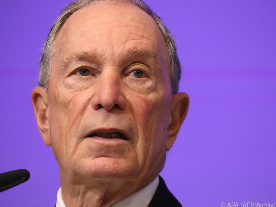 Bloomberg könnte doch noch kandidieren