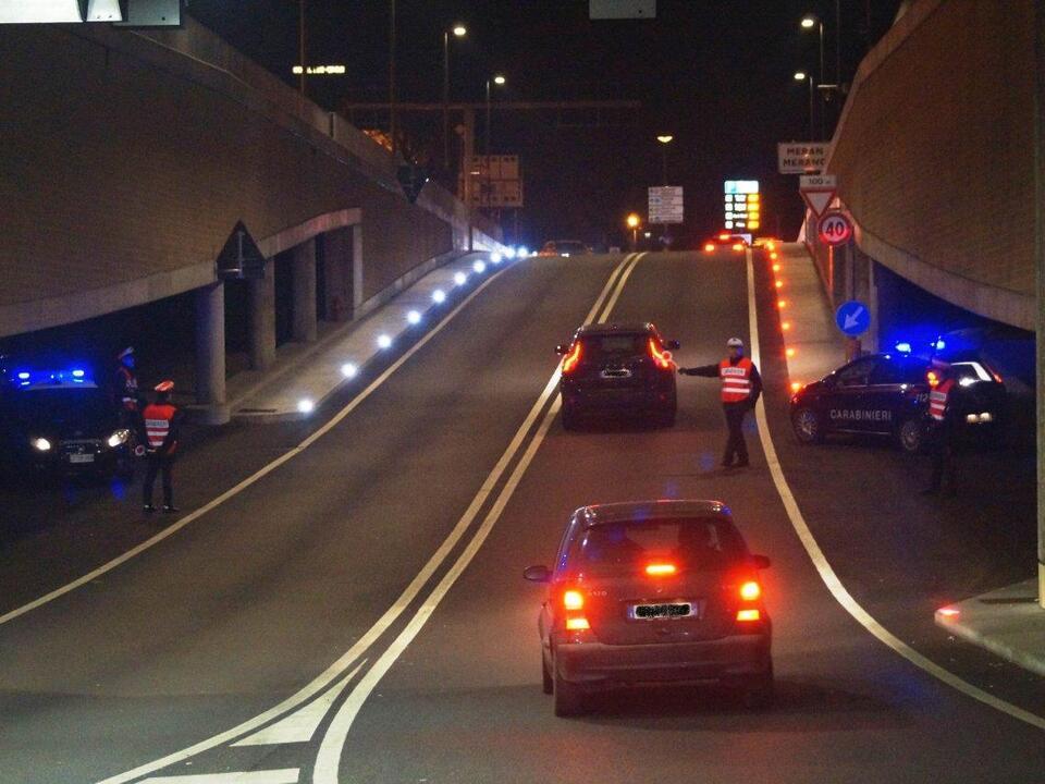 CC Merano circovallazione notte - rep.-