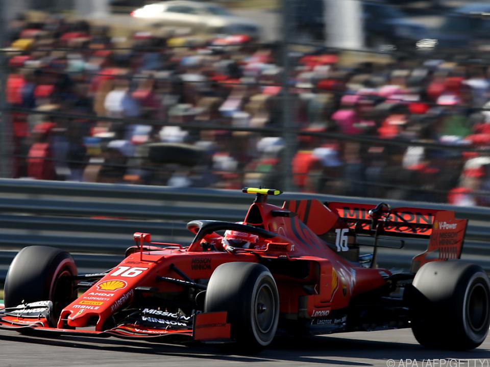 Die Ferraris waren auf den Geraden langsamer