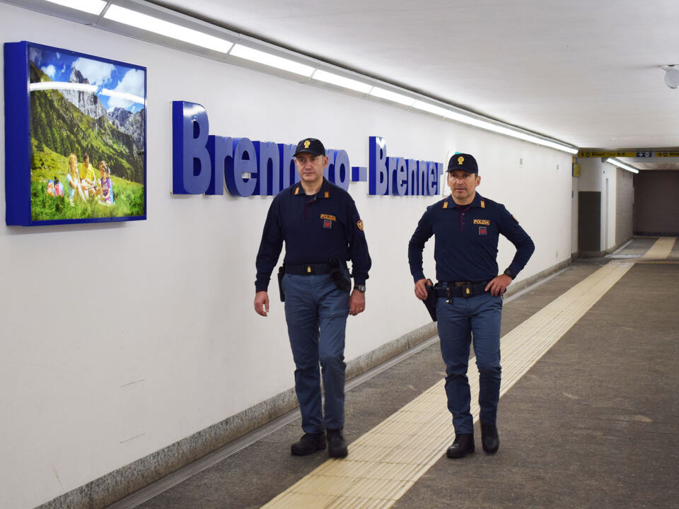 Bahnpolizei Polizei Brenner