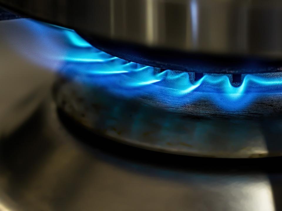 Gasherd Gas Gasflamme