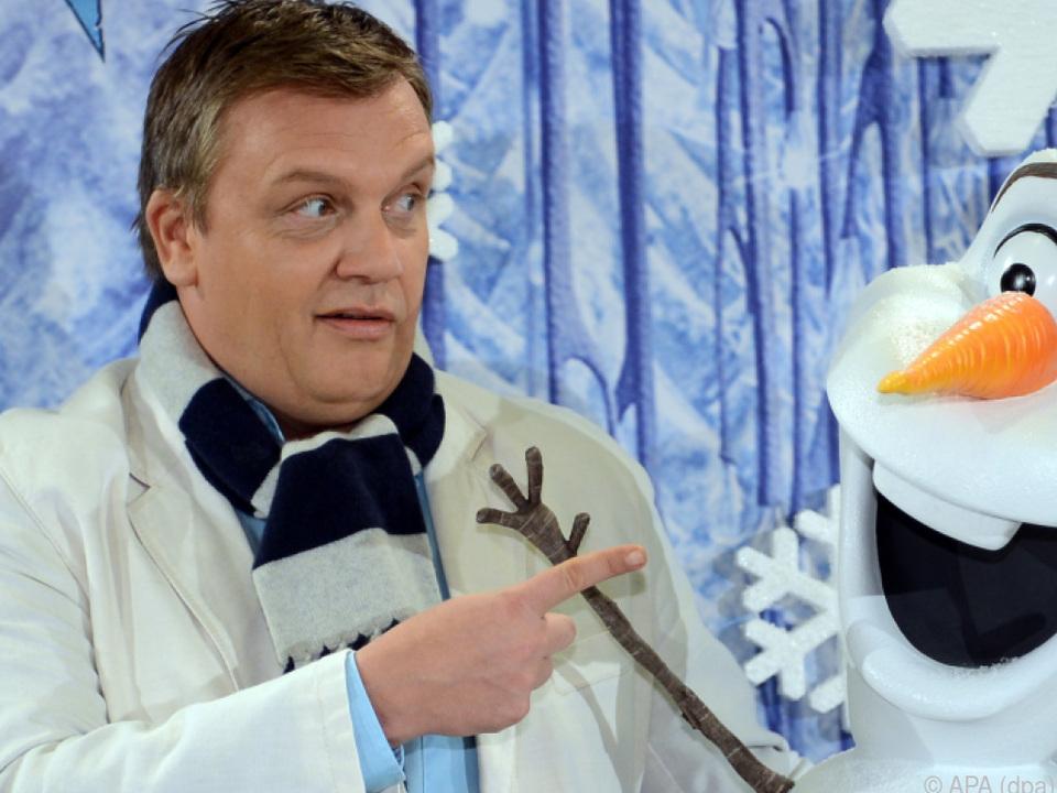 Hape Kerkeling leiht Schneemann Olaf seine Stimme