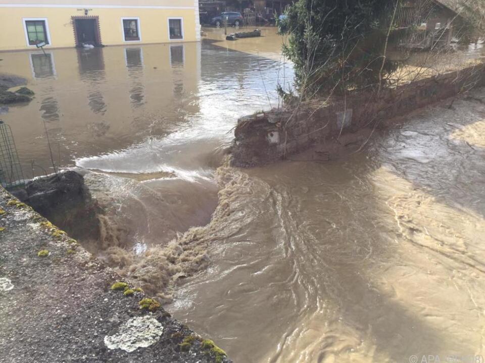 Hochwasser in St. Veit an der Glan