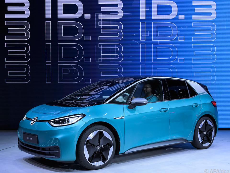Volkswagen baut in Zwickau erstes elektrisches Großserien-Modell ID.3