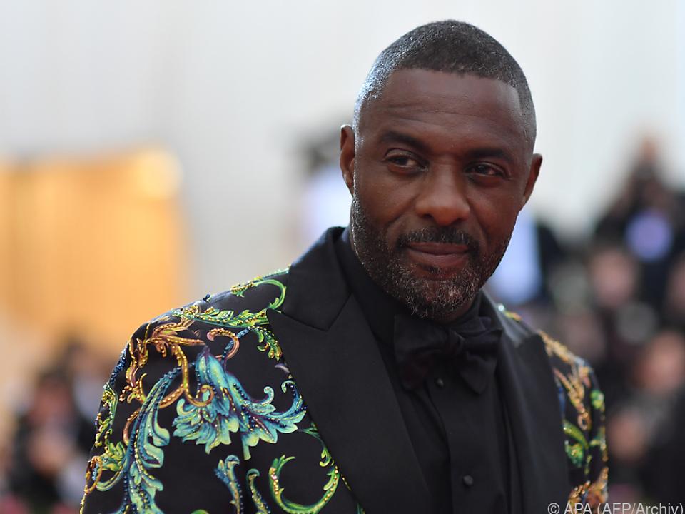 Idris Elba ist in \