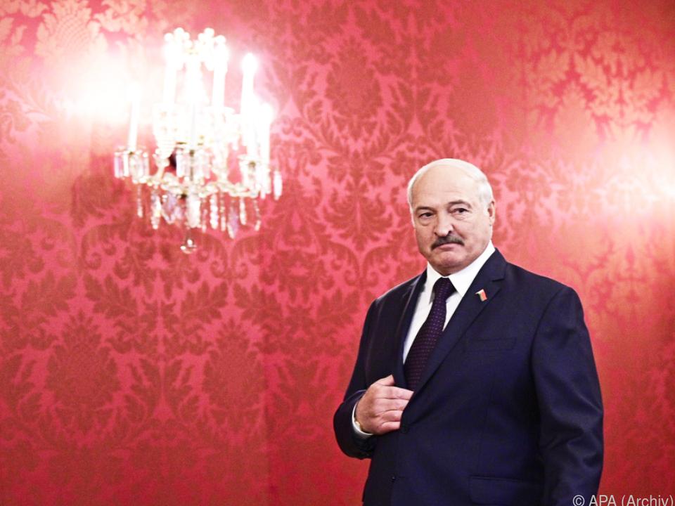 Lukaschenko war zuletzt in Wien zu Gast