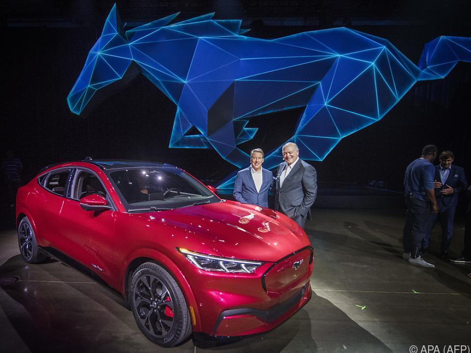 Mach-E heißt der neue Mustang, Kostenpunkt: 44.000 US-Dollar