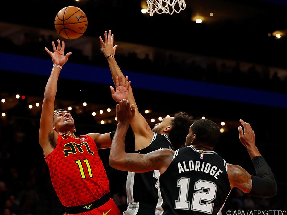 Nach zwei Niederlagen ein Sieg für die Spurs