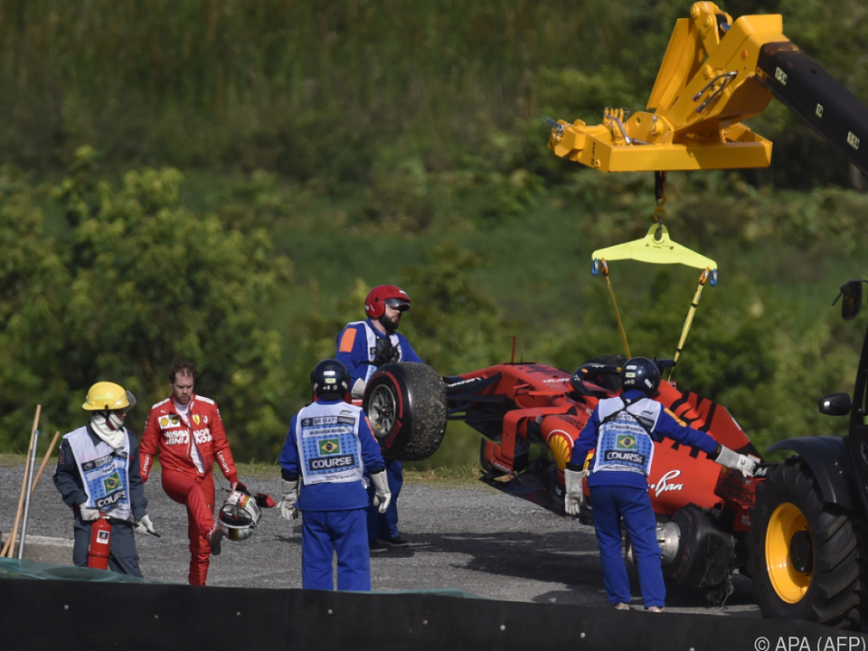 Nicht nur Vettel war nach dem Doppelausfall frustriert