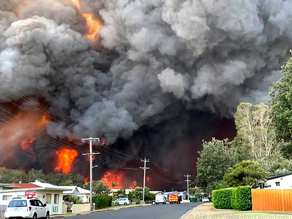 Rund 90 Buschfeuer wüten derzeit im Südosten Australiens