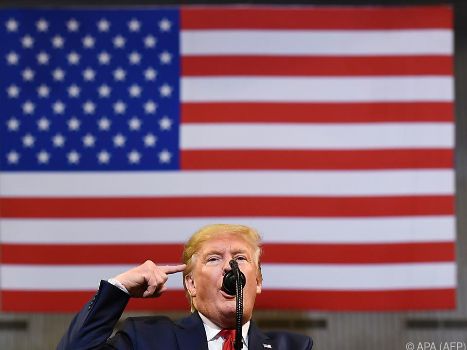 US-Präsident Trump ist in Bedrängnis