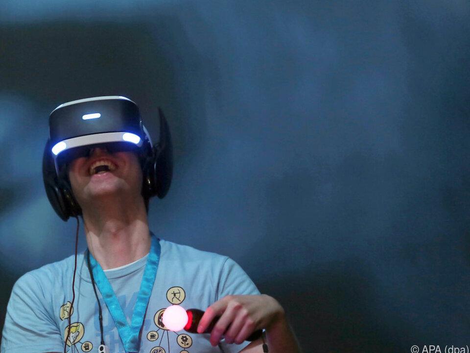 VR-Brillen bald auch für Kühe?