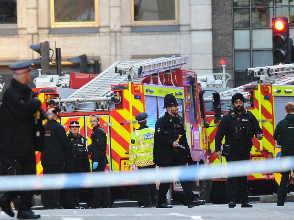 Zwei Menschen wurden bei dem Angriff nahe der London Bridge getötet