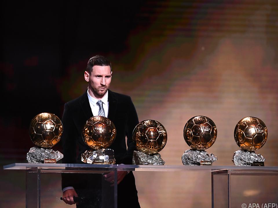 Barcelona-Superstar Messi räumte erneut einen Preis ab