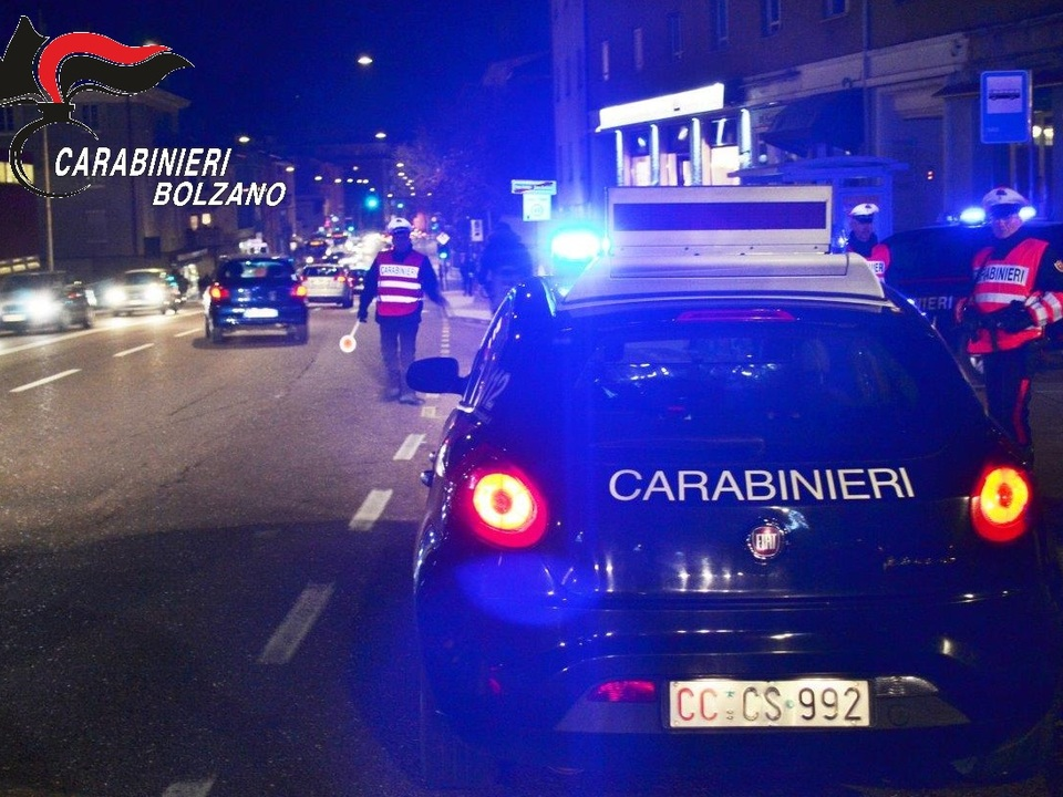 Carabinieri Bozen Nacht
