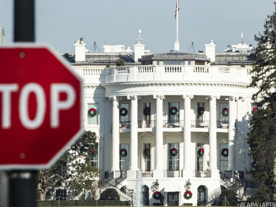 Das Weiße Haus ist empört über geplantes Amtsenthebungsverfahren