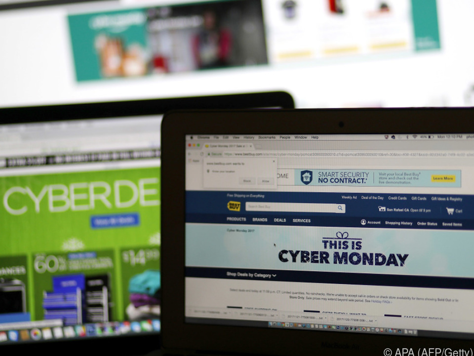 Der Dollar rollte am Cyber Monday