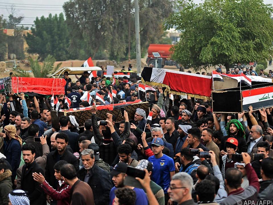 Die Zahl der Toten im Iran steigt