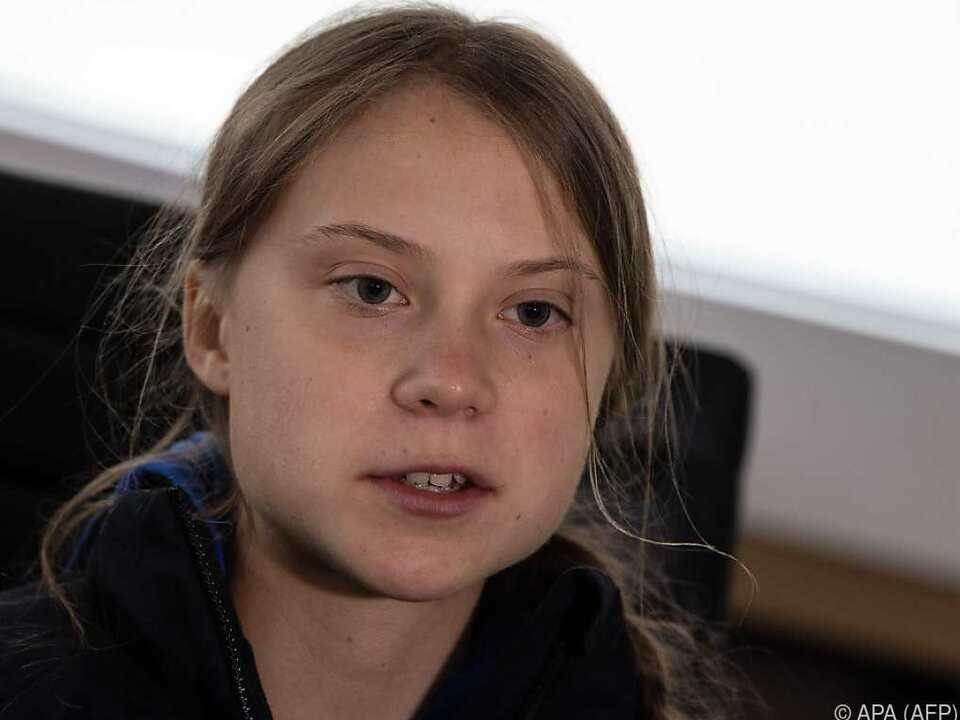 Greta Thunberg brauchte diesmal drei Wochen