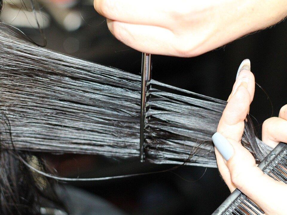 friseur haare farbe