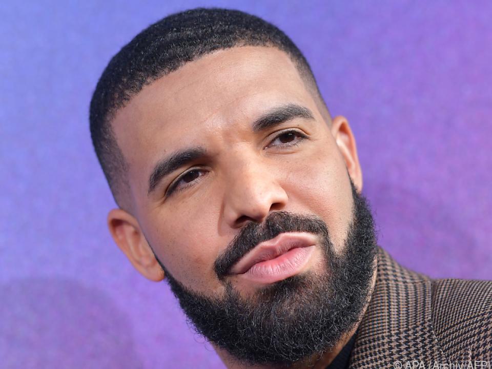 Lieder von Drake wurden 28 Milliarden Mal gehört