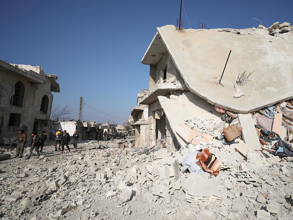 Luftangriffe im Norden Syriens