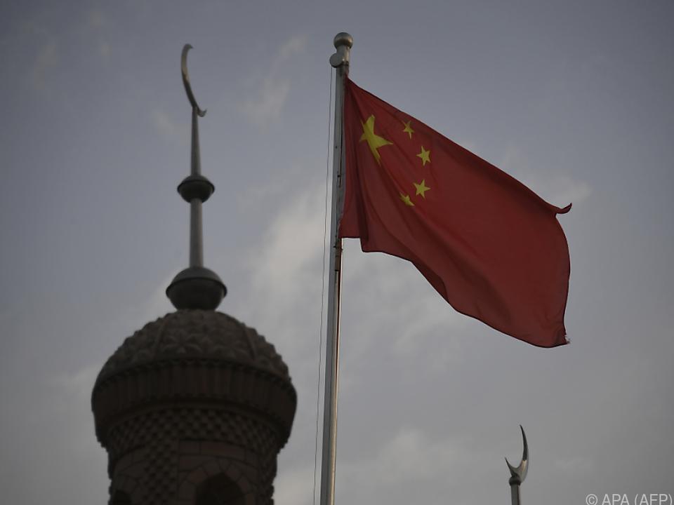 Mehr als eine Million Uiguren sollen sich in den Lagern befinden