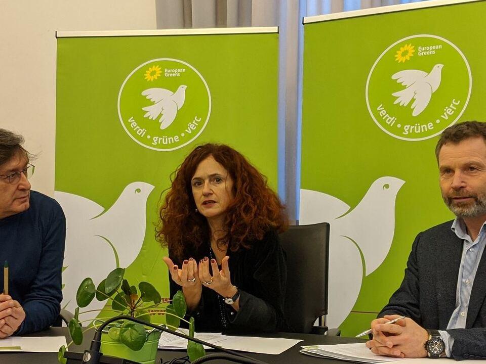 Grüne Landtag Staffler Foppa Dello Sbarba