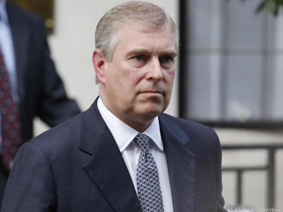 Prinz Andrew muss mit Vorladung rechnen