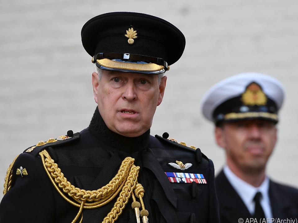 Prinz Andrew streitet die Vorwürfe ab
