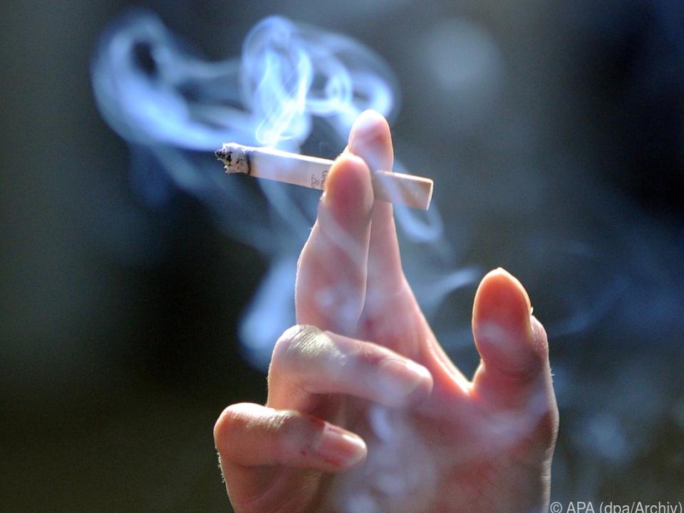 Rauchen bleibt die meistverbreitete Sucht in Österreich