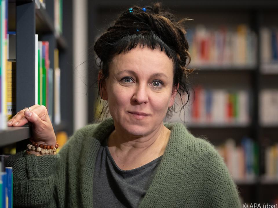 Tokarczuk bekam den Literaturnobelpreis 2018 rückwirkend zugesprochen