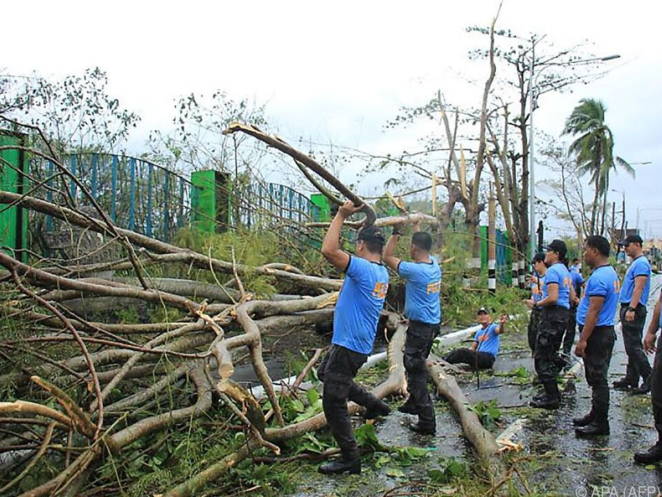 Verheerende Szenen auf den Philippinen