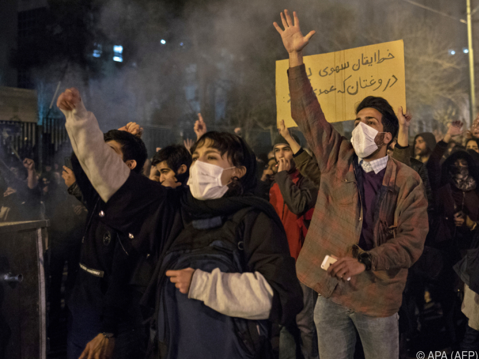 Anhaltende Proteste im Iran