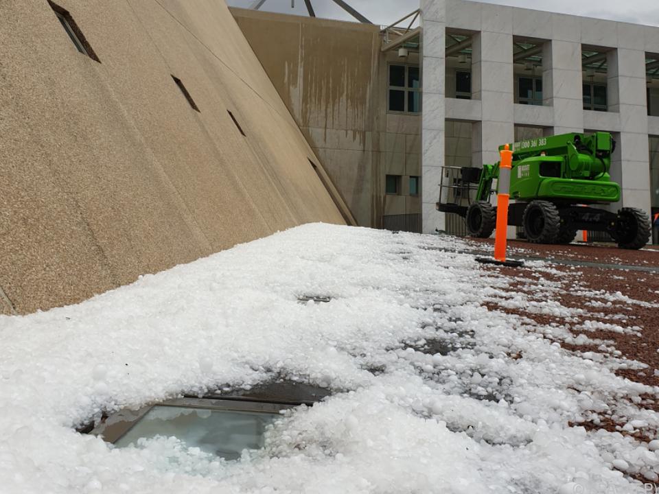 Australien wird weiterhin von Wetterphänomenen heimgesucht