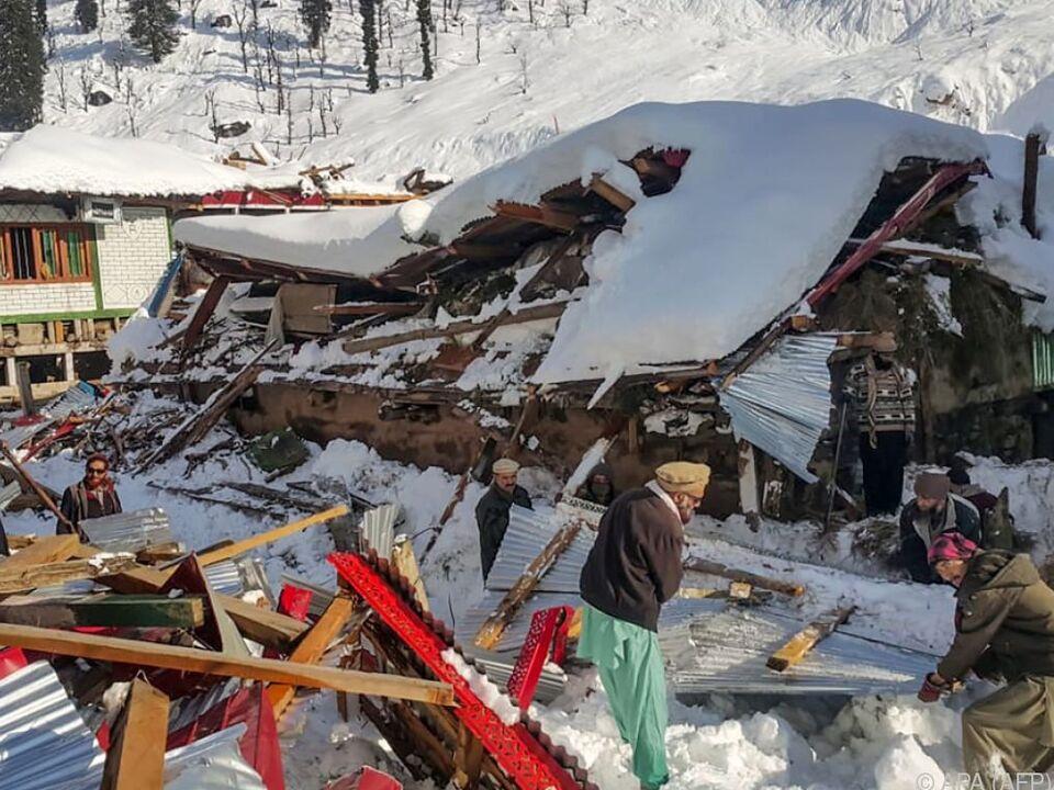 Bei dem Unglück starben mindestens 57 Menschen