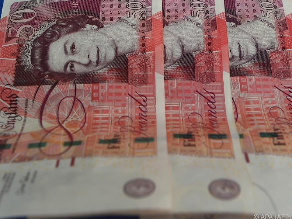Britische Pfundnote: Geldbündel gaben jahrelang Rätsel auf