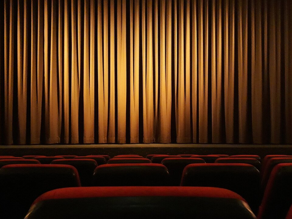 Kino Theater Vorhang