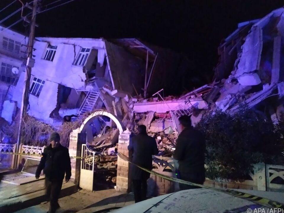 Das Beben sorgte für verheerende Szenen