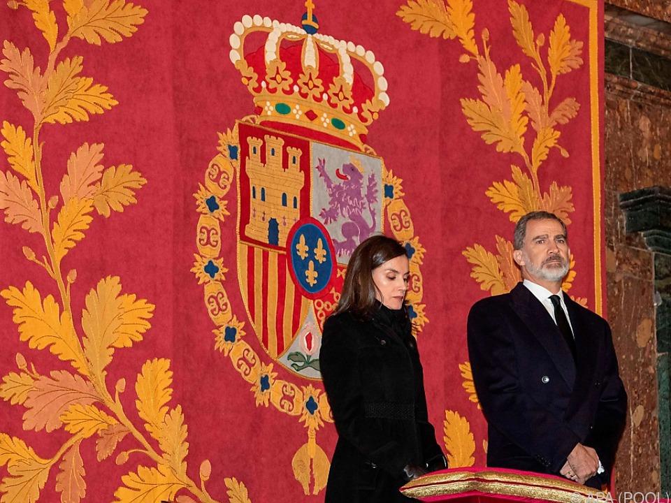 Das spanische Königshaus trauert