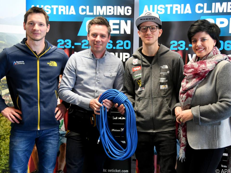 Der Kletterverband Österreich präsentiert Neuerung im Weltcup