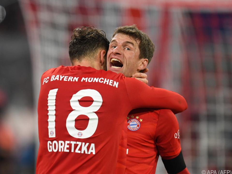 Die Bayern greifen wieder nach der Tabellenführung