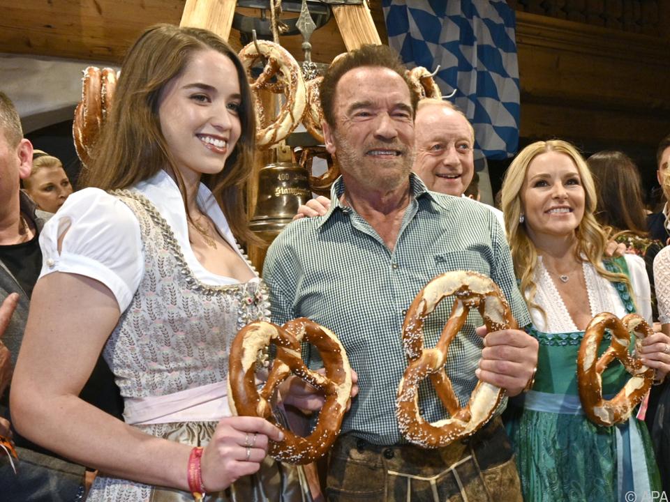 Die Schwarzeneggers dominierten die Promi-Berichte Kitzbühel