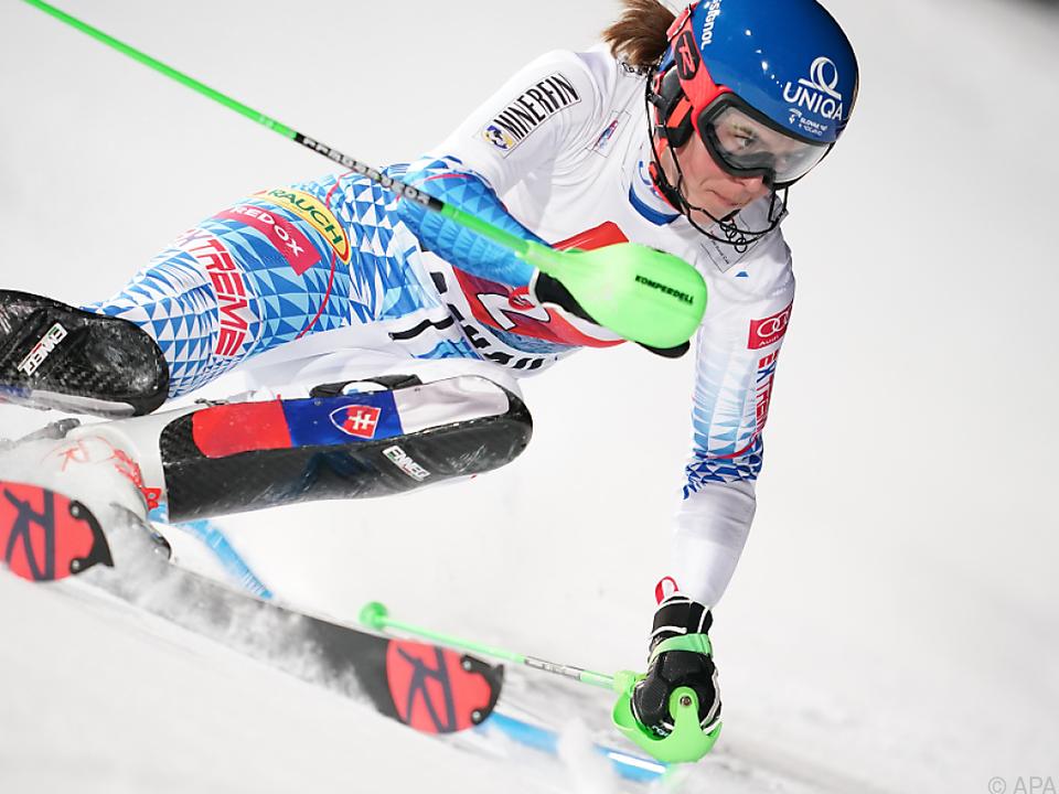 Die Slowakin hat ihren nächsten Weltcup-Sieg eingefahren