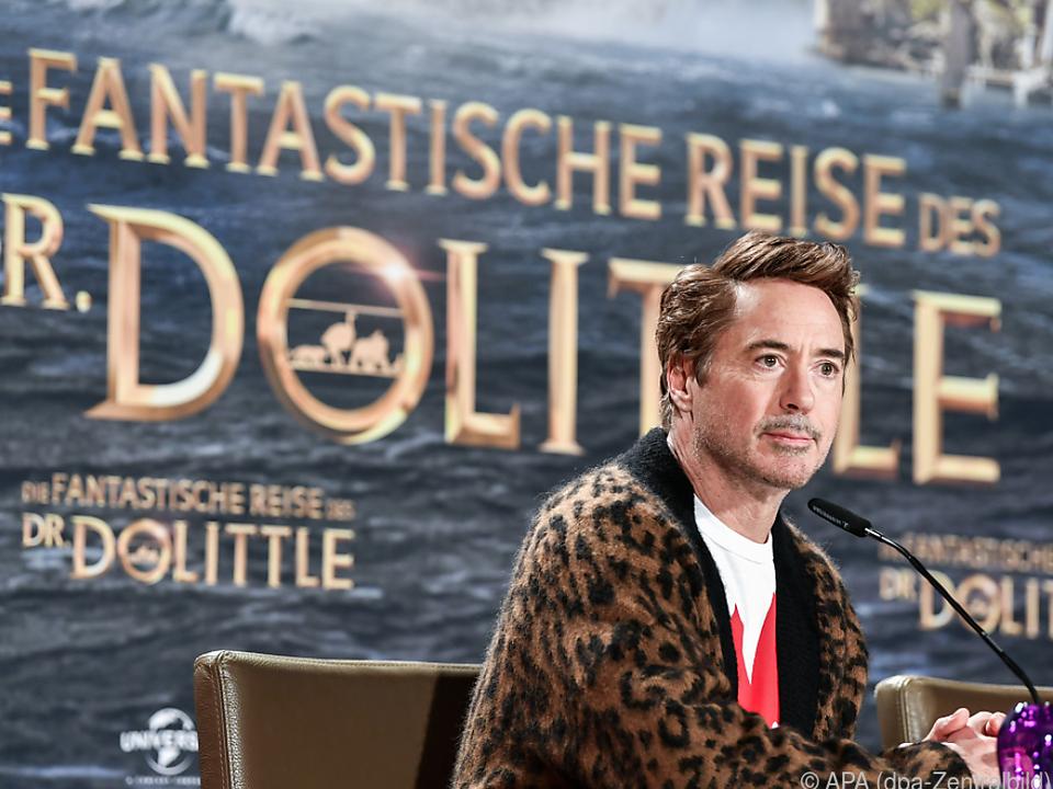 Doctor-Dolittle-Film mit Robert Downey Jr. ab Ende Jänner im Kino