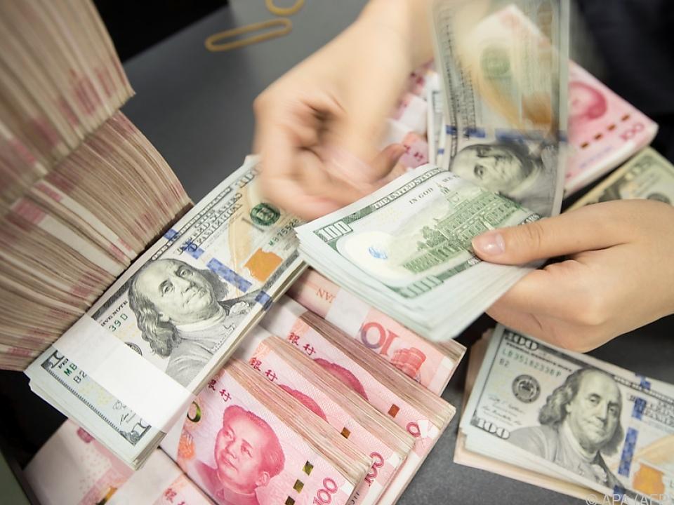 Dollar und Yuan kommen sich offenbar näher