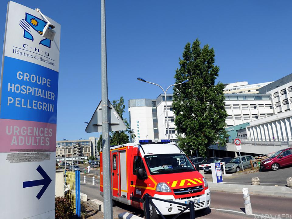 Einer der beiden Patienten ist in Bordeaux in Behandlung